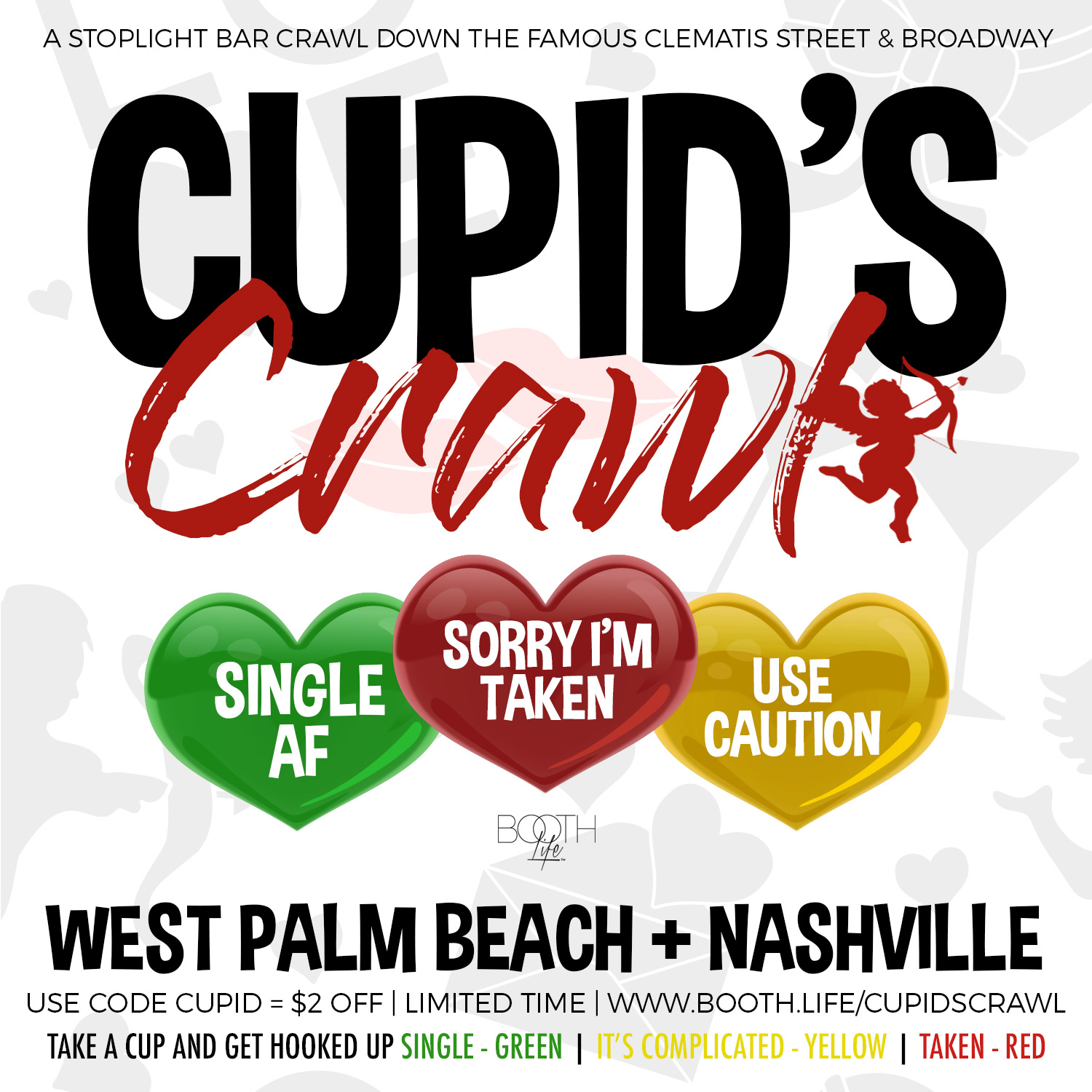 Nashville West Palm Beach Bar Crawl